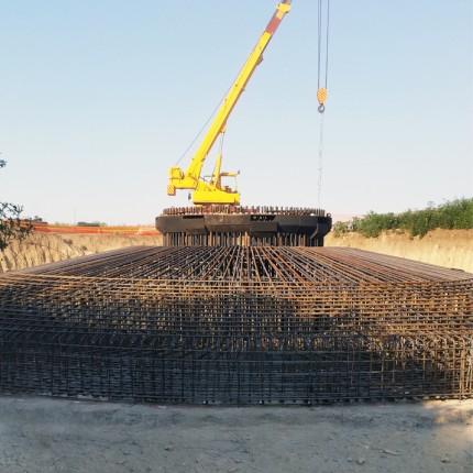 Impianto eolico in costruzione della potenza di 9,9 MW, denominato Kula, località: Kula (Serbia)